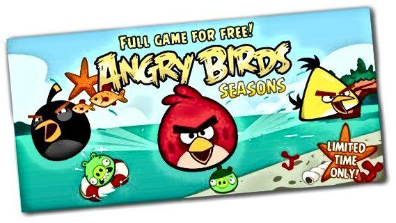 θυμωμένα πουλιά εποχές