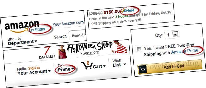 amazon prvotřídní reklama