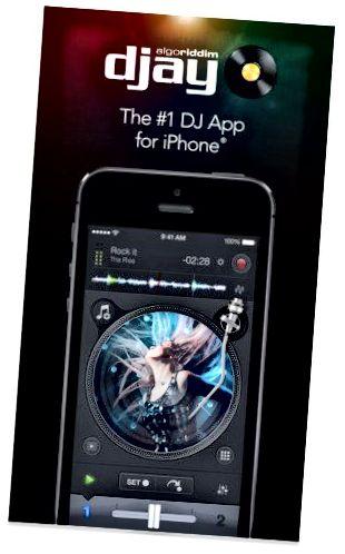 εφαρμογή djay 2 για viPhone