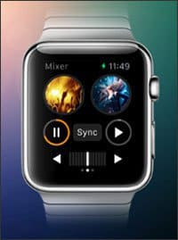 djay 2 για το Apple Watch