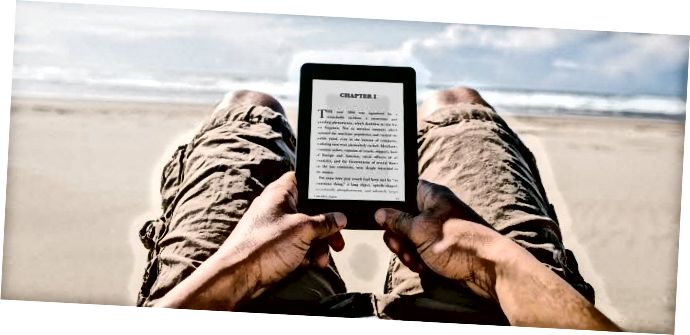 Kindle Paperwhite_Beach