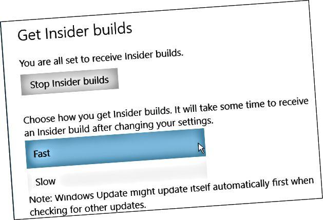 Δημιουργείται το Windows 10 Insider
