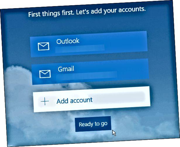 Aplikace Kalendář Windows 10