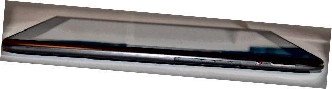 Acer Iconia A500 ylhäältä