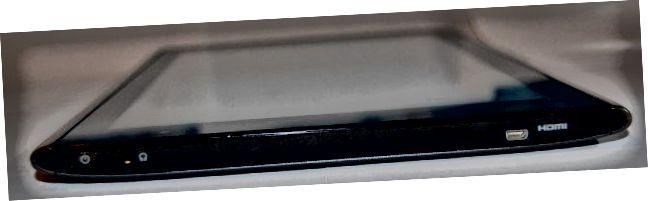 Acer Iconia A500 Vasen puoli