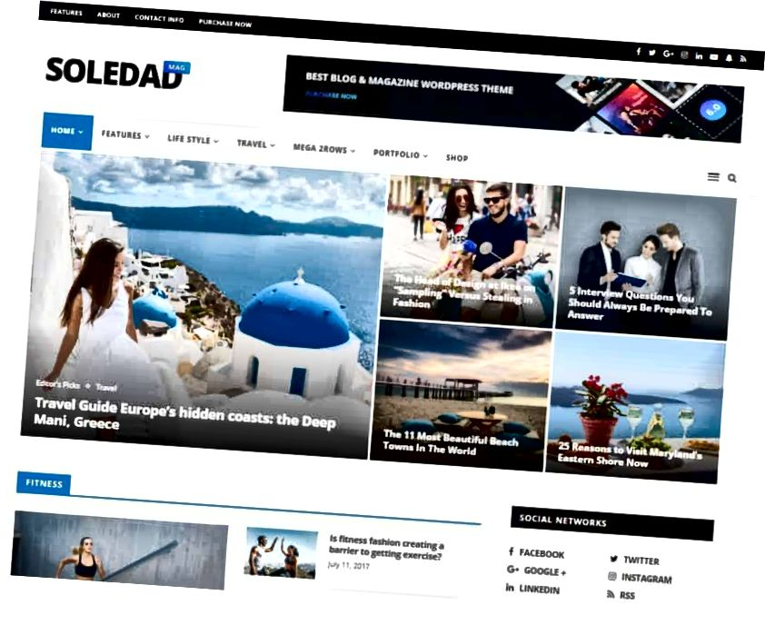 soledad WordPress-teema