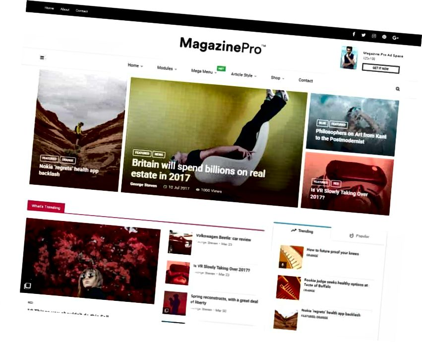magplus wordpress téma