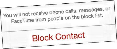Anrufer blockieren iOS 7