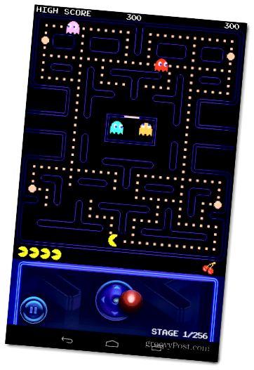 Pac-Man Portraite View Joystick