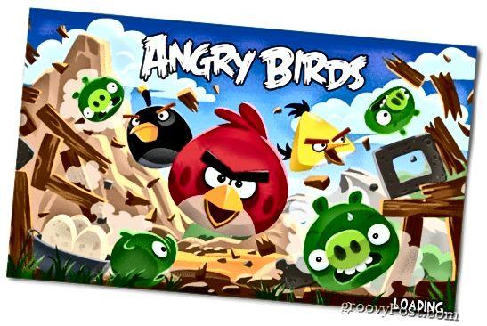θυμωμένα πτηνά