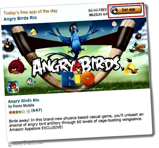 fáðu app fyrir Android Amazon verslun