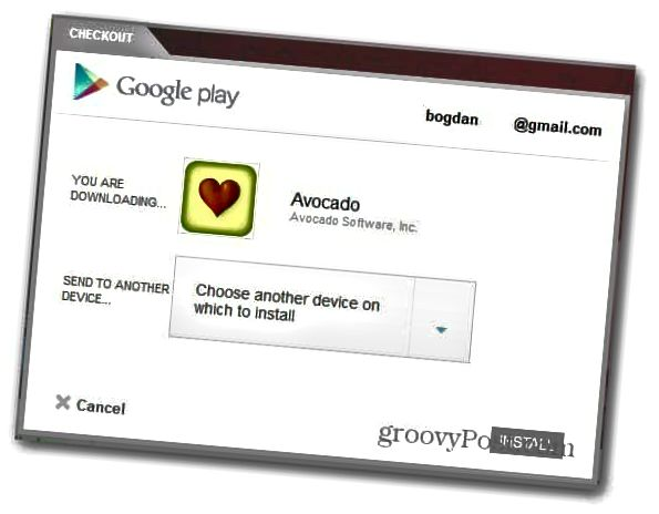 Avocado Android installieren
