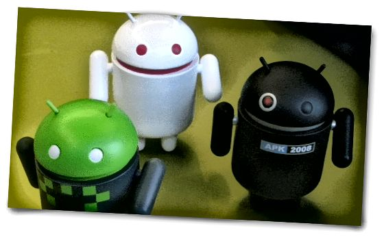 Android roboty