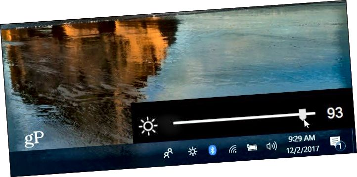 Bright Slider Windows 10