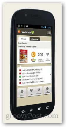 fooducate - demistificirati oznake hrane