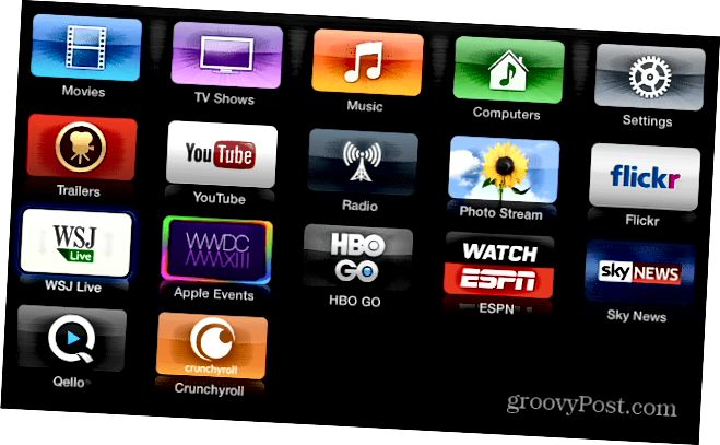 Neue Channel Apps Apple TV