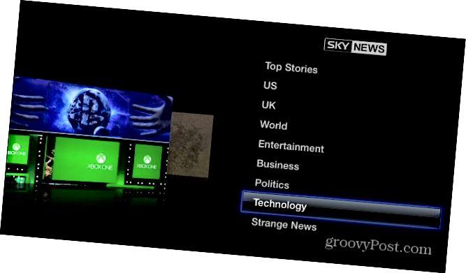 Sky News Apple TV