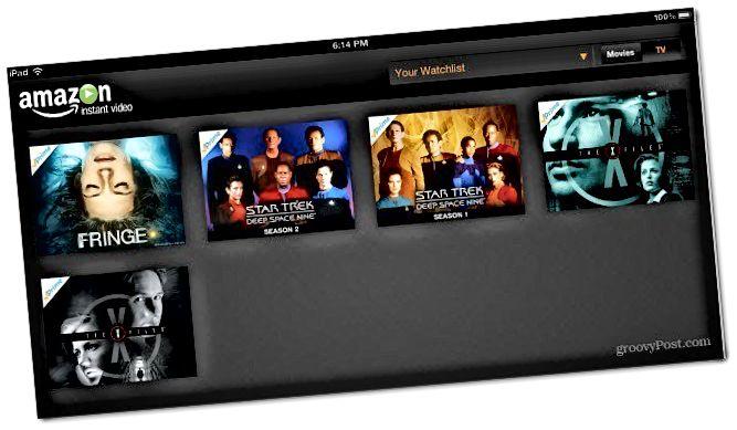 Tarkkailulista iPad