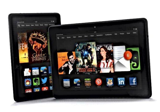 Amazon Kindle Fire HDX fjölskylda