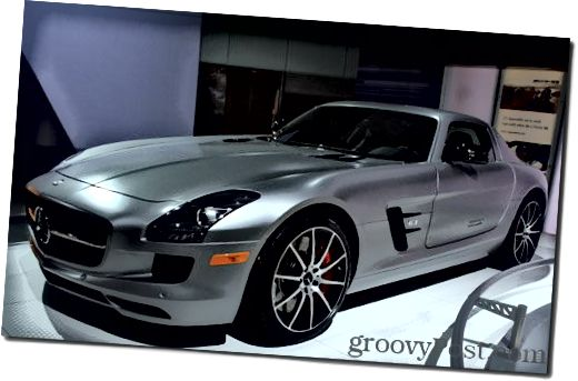 2013-Mercedes-Benz-SLS-AMG-GT-Coupe - Kuva-arvo: Phillip Krause, 2012 Los Angeles -autonäyttely
