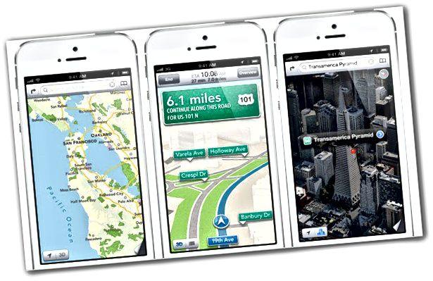 iOS-Karten
