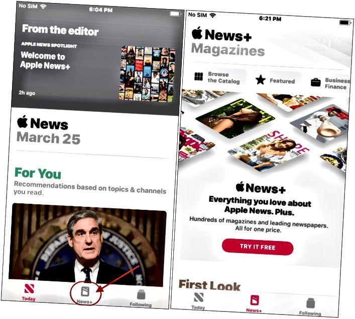 Apple News + iPhone