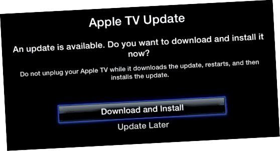Apple TV proqramını yeniləyin