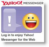 Webový klient Yahoo Messenger