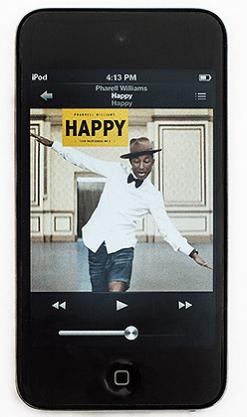 Erfolgreiche iPod-Musikübertragung