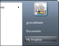 Groovy jak - dropbox na začátku menu
