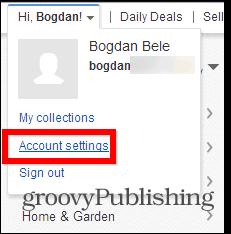 Το eBay αλλάζει τις ρυθμίσεις λογαριασμού κωδικού πρόσβασης