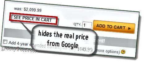google cena