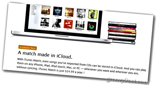 iTunes Match for Music