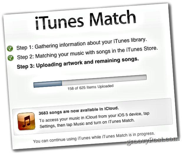 iTunes vastaa 3-vaiheista prosessia