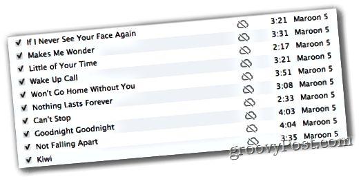 Το ταίριασμα iTunes δεν είναι κατάλληλο για μουσική icloud