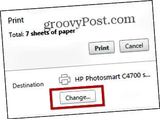 Chrome Print PDF
