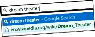 Chrome URL löschen