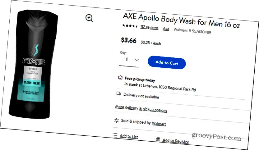 ax apollo price at walmart