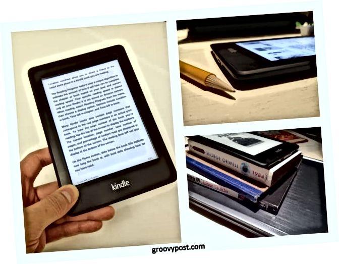ítarlega yfirferð og myndir af Amazon Kindle Paperwhite