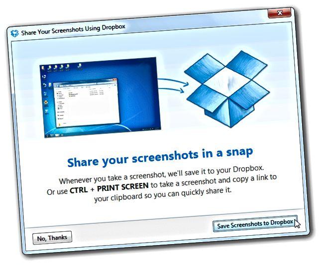 Screenshots teilen