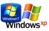 Loga Windows XP a Windows 7