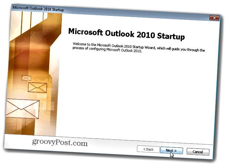 Outlook.com Outlook Hotmail Connector - Ρύθμιση του πελάτη