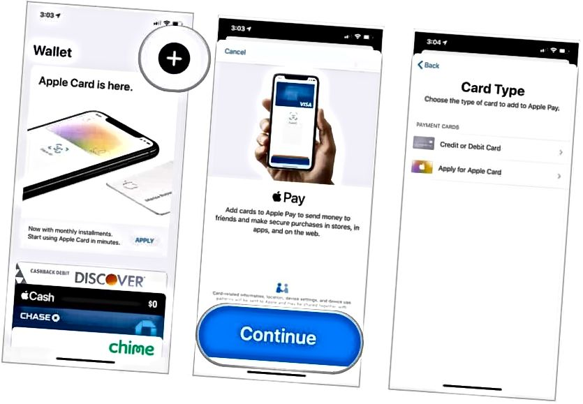 Apple Pay sett upp á iPhone