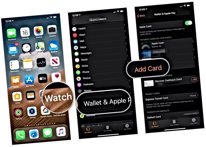 Apple Watch-da Apple Pay