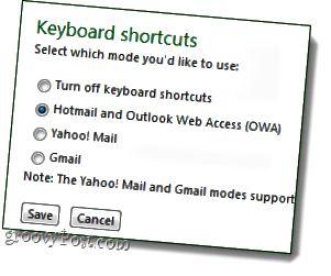 χρησιμοποιήστε συντομεύσεις hotmail ή yahoo ή gmail