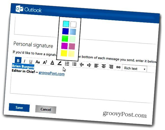 Προσωπική υπογραφή