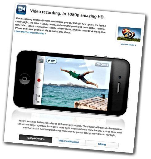 iPhone 4S 1080p Video