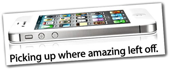 iPhone 4S gleiches Design wie iPhone 4