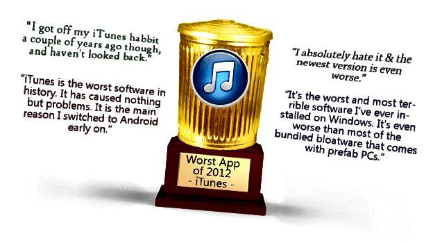 iTunes-pis proqram