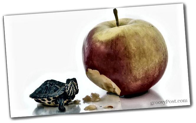 Hvernig Apple gerir iPhone útlit hraðar en hann er
